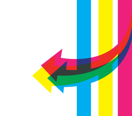 Colored Template Design.