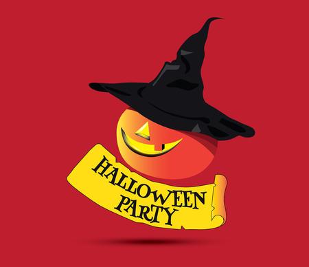 Halloween Party Concept Design and Pumpkin