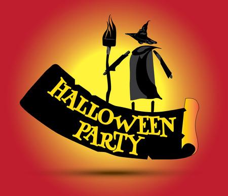 Halloween Party Concept Design en Heks