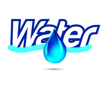 reflection of life: Water with Drop Design