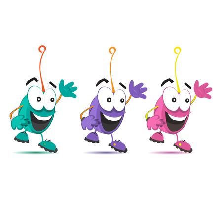 job satisfaction: Character Design Set
