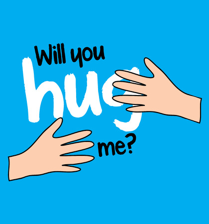 Will You Hug Me Concept Design Illustration