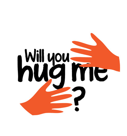 Will You Hug Me Concept Design Illustration