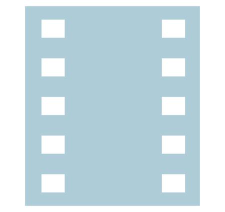 negative: Blue Negative Film Design
