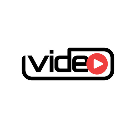 Video Logo Design Concept Stock fotó - 64975525