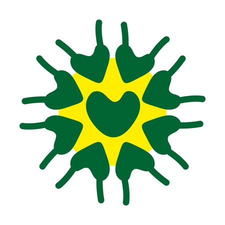 Microscobic Algea Vector Design