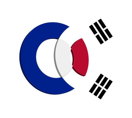 korean design: Korean Icon Concept Design, EPS 8 supported.