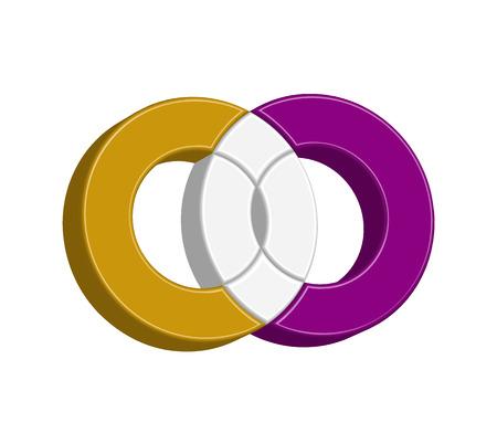 CO Logo Concept Design, EPS 8 supported. Illustration