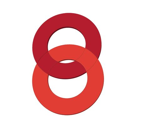 OO 아이콘 개념 디자인, EPS 8 지원. 일러스트