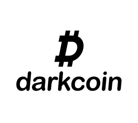 decentralized: Dark Coin Concept Design, EPS 8 supported.