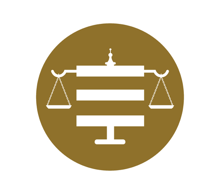 acquittal: Law IconConcept Design. EPS 8 supported. Illustration