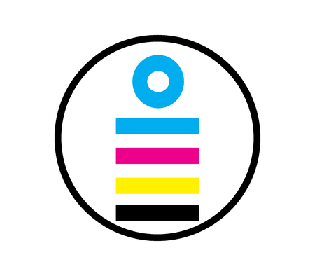 CMYK Icon Design Concept, EPS 8 supported.