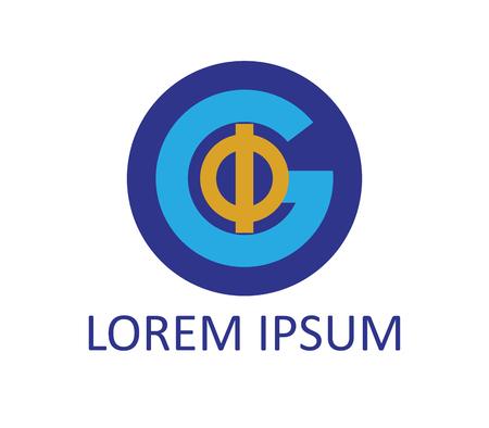 Phi and G Logo Concept Design