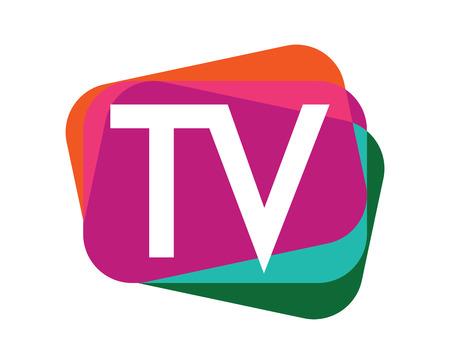 TV Logo Design Set. EPS 8 supported.