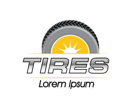 eps 8: Tires Logo Design Concept. EPS 8 supported.