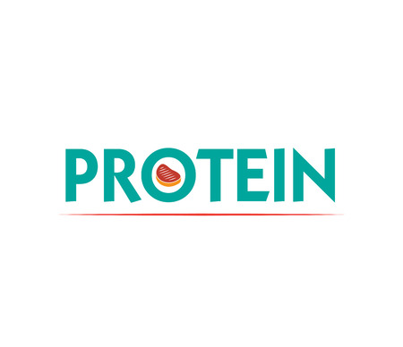 fillet steak: Protein Logo Design with Meat. Eps 8 supported.