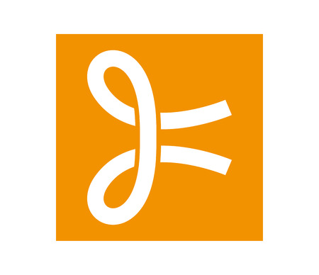 Knot Icon Design Concept, Eps 8 supported.