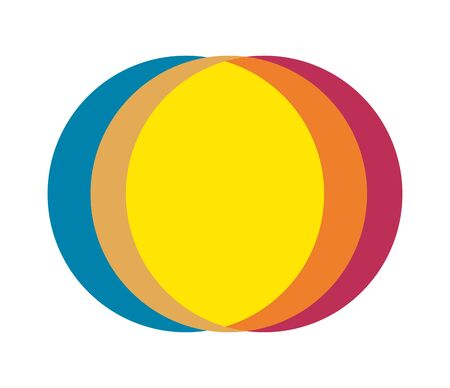 Abstract Multiple Color Circle Design. Eps 8 supported.