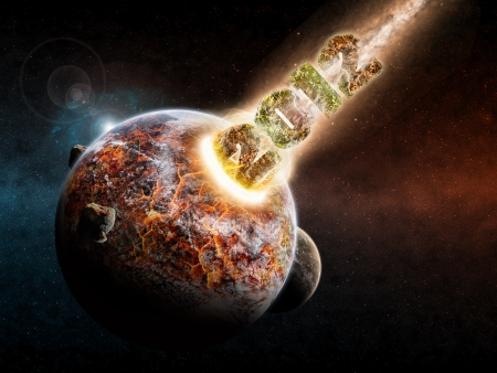 end of world: Planet earth apocalypse 2012