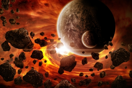Planet earth apocalypse 2012 photo