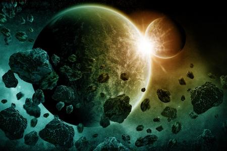 Planet earth apocalypse 2012 Stock Photo - 13895644