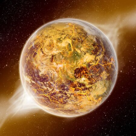 Planet earth apocalypse 2012 photo