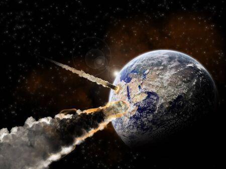 Planet earth apocalypse 2012 Stock Photo - 13895618
