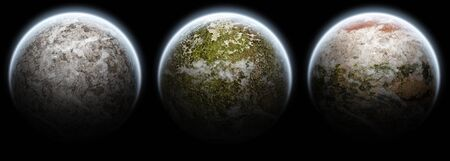Planet pack collection Stock Photo - 13895740