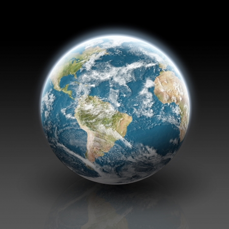 Planet earth Stock Photo - 13895713