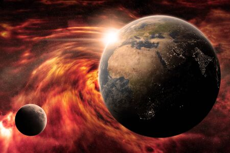 end of world: Planet Earth Apocalypse