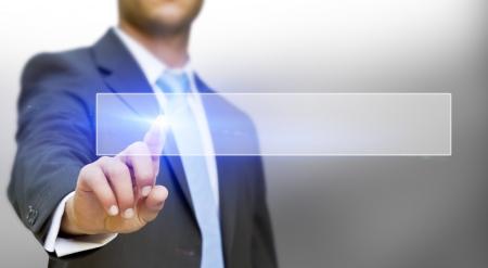 technologie: Podnikatel dotykem hmatový displej