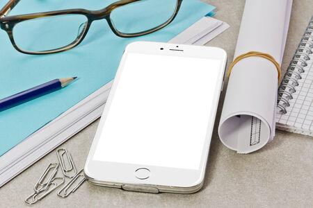 mock up: Modern digital tech device mock up