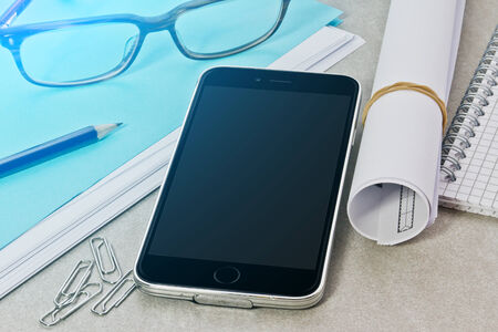 device: Modern digital tech device mock up