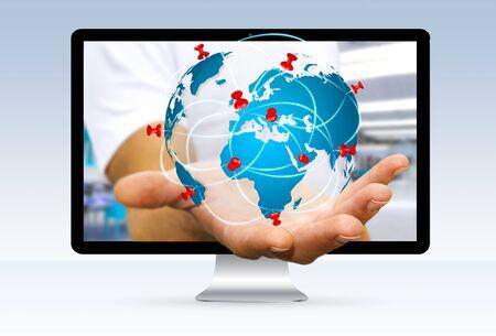 world map pins online