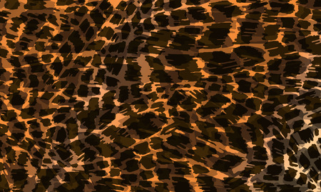 tiger skin: Illustration of colorful animal skin fur texture