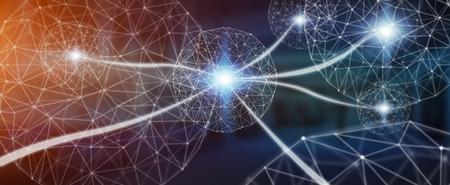 Futuristische datanetwerk