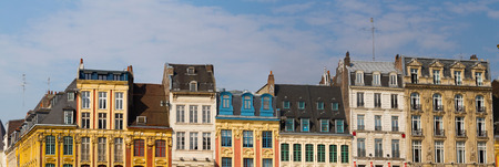 main: View of french city Lille at the main place