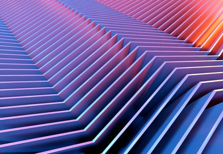 Abstract digital line texture background 3D rendering Banco de Imagens