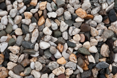 Full frame of assorted pebbles Stock Photo - 15163701