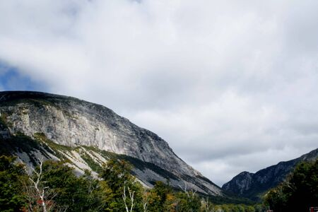 White Mountains in New Hampshire Stock Photo