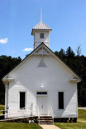 Country White church photo