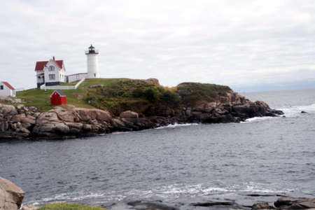 Nebble lighthouse in Maine