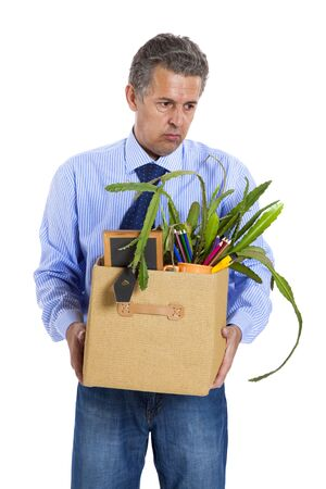 immoral: the employee was dismissed for immoral conduct Stock Photo