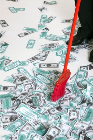 red broom in the money photo