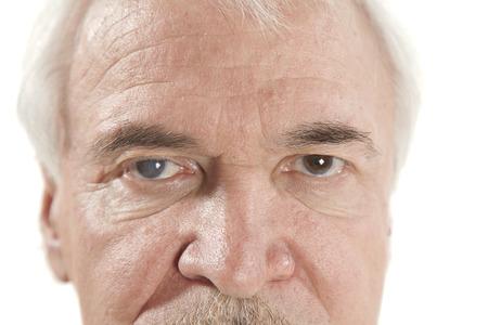 老人性白内障の目の検査の間にクローズ アップ 写真素材 - 43282368