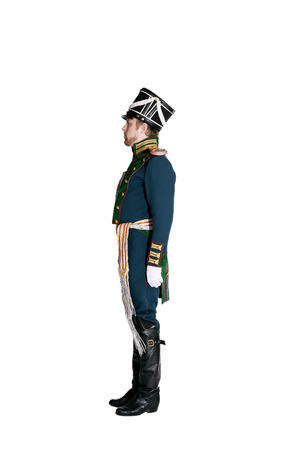 The officer of the Guards Jaeger Regiment. Nineteenth Century. Honorary military guard. Reklamní fotografie