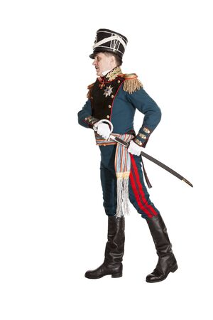 dragoon: Officer Guards Horse Artillery. Nineteenth Century. Honorary military guard.