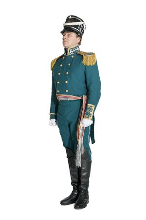 The officer of the Guards naval crew of the nineteenth century