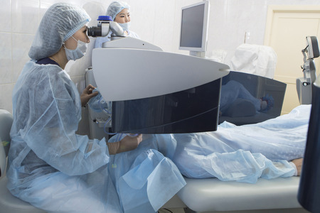 Laser surgery for vision correction and cataract removal