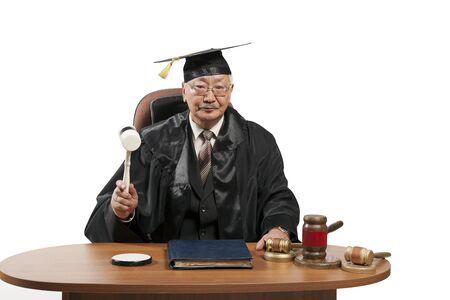 Law professor shows students 写真素材 - 134676171